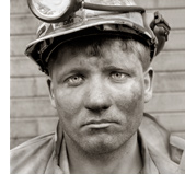 Photograph of miner